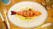 Fish on plate - Ocean to Plate hi-res video stills