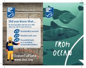 Receipt holder | ocean to plate