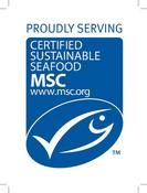 Proudly Promoting MSC  sticker 110x150mm