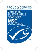 Proudly Promoting MSC  sticker 110x150mm