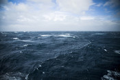Wild Waters Drake Passage - Stock image