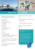 Mackerel in tomato sauce with pearl barley recipe cards _in Danish