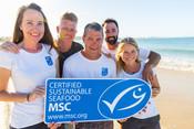Choose the blue MSC ecolabel