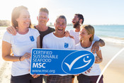 Choose the blue MSC ecolabel