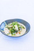 MSC certified hoki in coconut broth