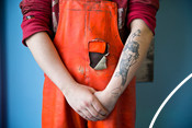 SFSAG fisherman with tattoo