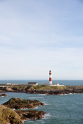 Lighthouse at Peterhead Harbour