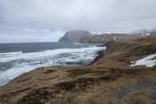Ocean Waves Hitting the Alaskan Coast
