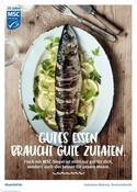 MSC 20 Jahre POS Poster Fischgericht