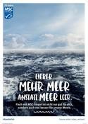 MSC 20 Jahre POS Poster Ocean