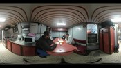 360 video- lunch on board (YouTube)
