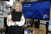 Daria Ładocha during MSC press meeting