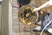 Wild American Seafood Dinner - Squid paella