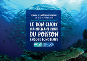 Le poster emblématique de la Semaine de la Pêche Responsable 2019