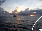 Tuna fishery landscape image